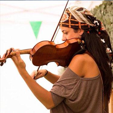Cecilia Begueria -profesora de violin