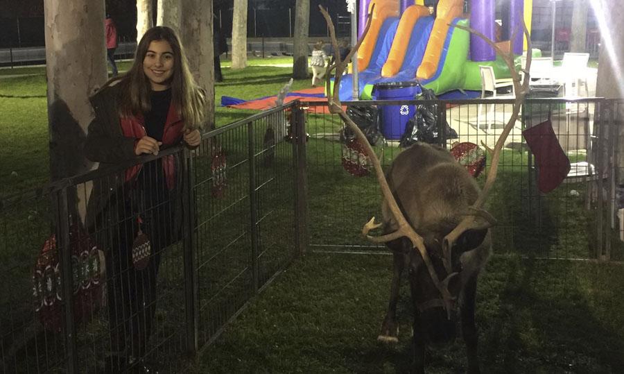 Fiesta de Navidad del Banco Santander con los Rock Kids