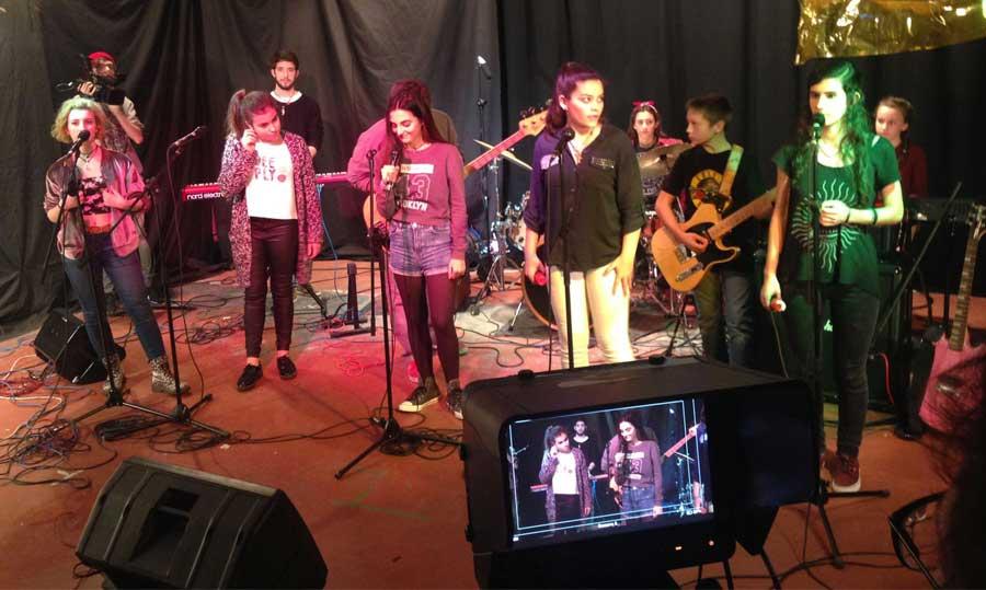 Los Rock Kids en el programa 'A tu Ritmo'