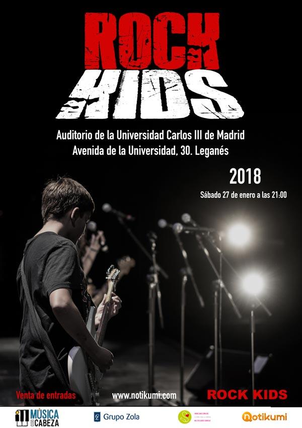 Concierto Rock Kids 2018